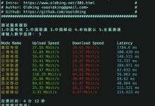 #脚本#Linux VPS 常用测试脚本 – 包含硬件信息、网速、延迟、路由-主机饭