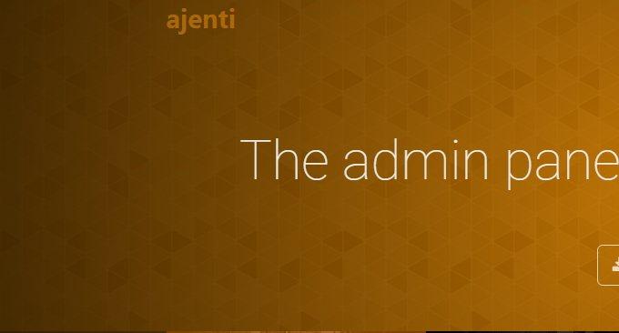 开源免费的服务器面板Ajenti 和Ajenti V 安装使用-丰富插件轻松上手-主机饭