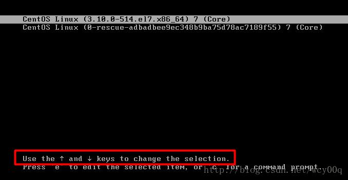 Centos7修改root密码相关命令-1