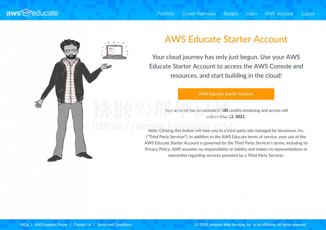 AWS Educate Starter 上手体验与入坑须知-5