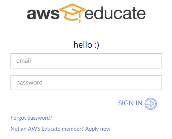 AWS Educate Starter 上手体验与入坑须知-主机饭